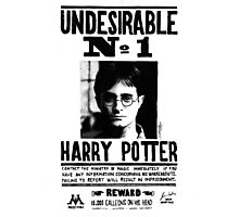 Harry Potter Ministery Poster Photographic Print