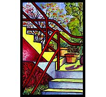 Stairway To Evan's Photographic Print