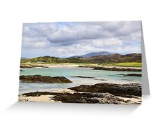 Rocky Shore at Silversands Greeting Card