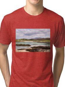 Rocky Shore at Silversands Tri-blend T-Shirt