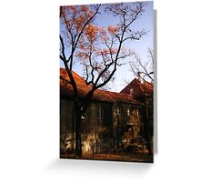 Autumn in Professors Colony Greeting Card