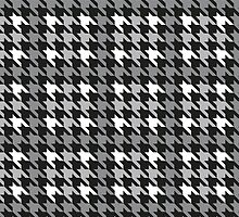 Plaid Houndstooth by Lisann