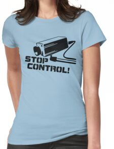 Stop Control Womens Fitted T-Shirt