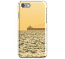 Ship sailing in ocean iPhone Case/Skin