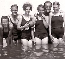 70+ years ago, girls just wanted to have fun!!  by MrJoop