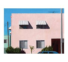Pink Apartments by Michael Ward