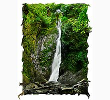 imaginative water fall where unicorns live! Unisex T-Shirt