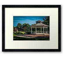 Goodale Gazebo Framed Print