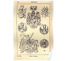 A Handbook Of Ornament With Three Hundred Plates Franz Sales Meyer 1896 0538 Heraldry Helmet Trappings Poster