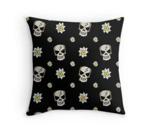 Hades Tile Pattern Throw Pillow