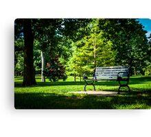 Goodale Park Canvas Print