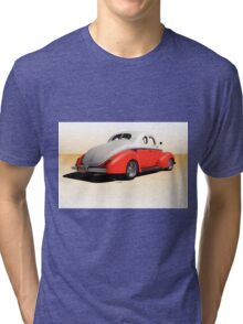 1940 Ford Deluxe Coupe 50 50 II Tri-blend T-Shirt