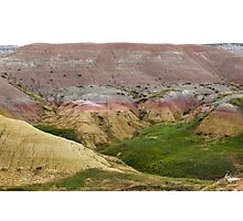 Colored Land Photographic Print