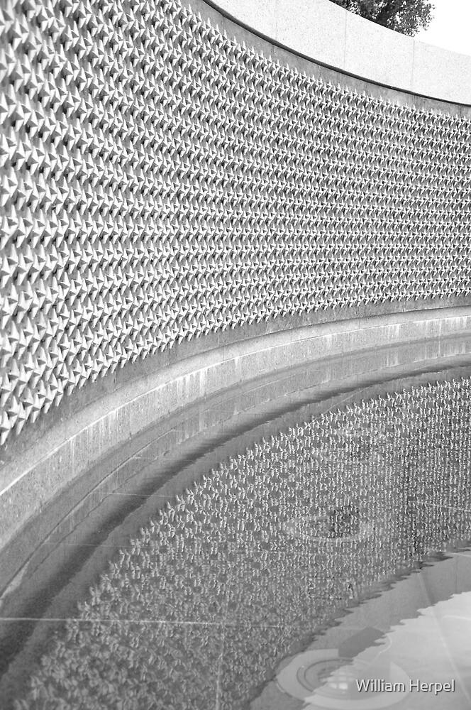 World War II Memorial, Washington DC by William Herpel