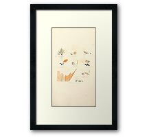 Coloured figures of English fungi or mushrooms James Sowerby 1809 0963 Framed Print