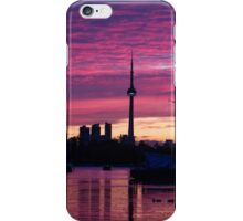 Toronto Skyline - the Boats Are Coming In iPhone Case/Skin
