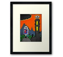 Scott Cosby Bored of the Rings Pogoshots Framed Print