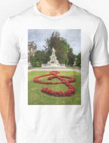 Mozart Statue In Vienna, Austria T-Shirt