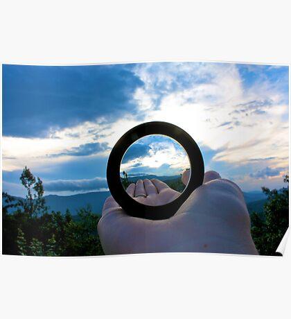 Handheld Lens Poster
