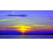 My Sunset Interpretation Photographic Print