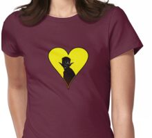 Let me into your heart ... Womens Fitted T-Shirt