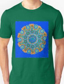 Doily Joy Mandala- Sky High Unisex T-Shirt