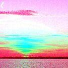 Sky Blue Pink by Amedori