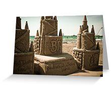 Cobourg Sandcastle Festival Greeting Card