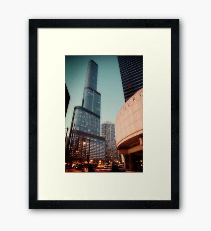 Trump Tower in Winter Framed Print