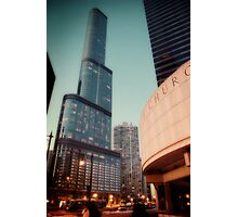 Trump Tower in Winter Photographic Print