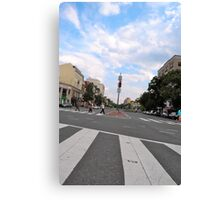 Dupont Circle Saturday Canvas Print