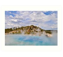 Excelsior Spring Yellowstone 2 Art Print