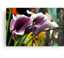 Farmers Market Lilies Metal Print