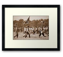 Going to Fight Against Their Own Brothers! Framed Print
