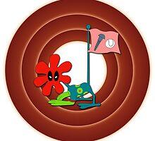 Deadpool Amuck - Looney Tunes by landobry