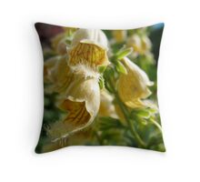 Floral Velcro Throw Pillow