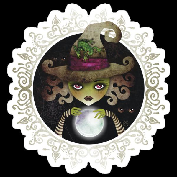 Elphaba, the Wicked Witch of the West by sandygrafik