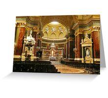 Saint Steven's Basilica II Greeting Card