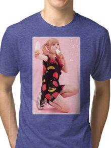 "Kyary Pamyu Pamyu ""Ice Cream"" Tri-blend T-Shirt"