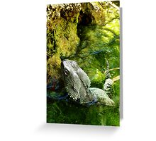 Water Dragon Greeting Card