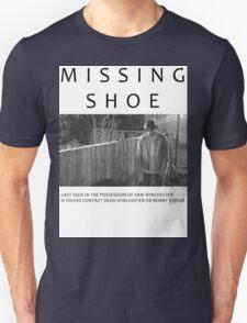 I lost my shoe... Unisex T-Shirt