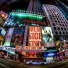 Fisheye on Broadway by Randy  Le'Moine