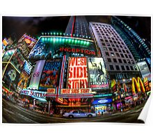 Fisheye on Broadway Poster