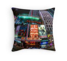 Fisheye on Broadway Throw Pillow