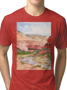 Zion National Park Tri-blend T-Shirt