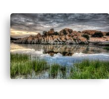 Willow Rock Twice Canvas Print