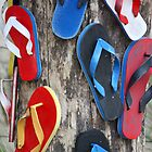 Mummy where do thongs (flipflops) come from??? by Deb Gibbons