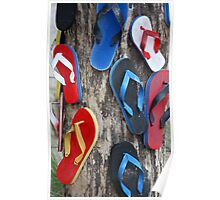 Mummy where do thongs (flipflops) come from??? Poster