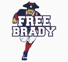 Tom Brady Suspension - FREE BRADY by emrdesigns