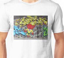 Superbunny Graffiti Vienna Austria Unisex T-Shirt